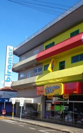 Inauguração da loja Biramar Baby na principal rua do comércio em Ibitinga/SP.